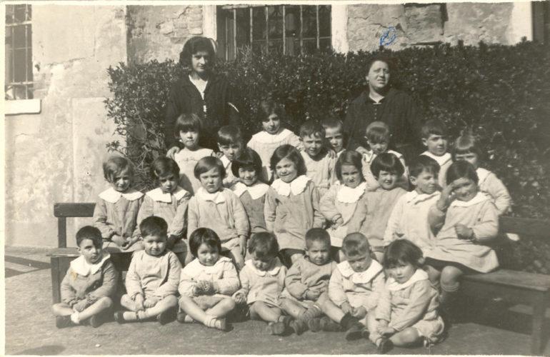 Asilo ebraico a Venezia, 1929 - Archivio CDEC, fondo  fotografico Stella Silva