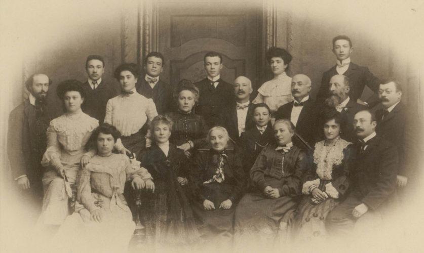 La famiglia Momigliano Luzzatti - Archivio CDEC, Fondo fotografico Simonetta Luzzatti