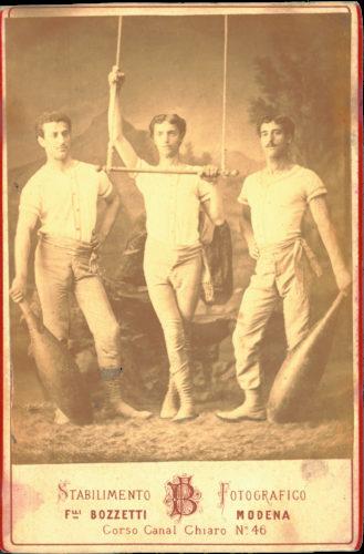 Atleti della societa' del Panaro, Modena - Archivio privato, Modena