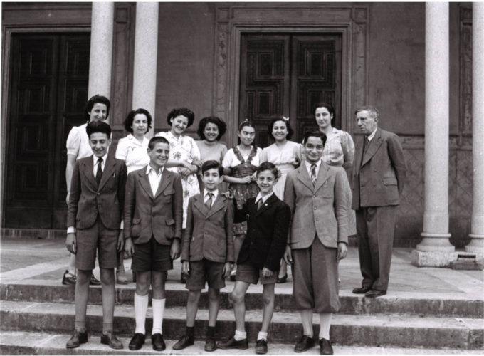 Una classe della scuola ebraica di Firenze, aprile 1943 - Archivio privato, Torino