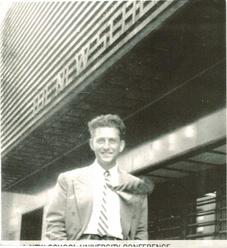 Franco Modigliani (1918-2003). Nel 1938, ancora studente, emigrò in Francia e poi negli Stati Uniti, dove ricevette il Nobel per l'economia nel 1985. Non fece ritorno stabilmente in Italia - Archivio privato, Roma