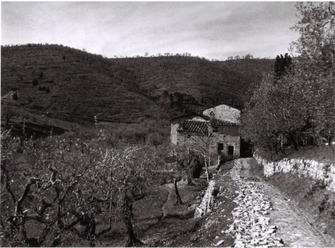 La Colombaia, luogo di campagna vicino Firenze si era nascosta la famiglia di Elio Salmon - Archivio privato, Torino