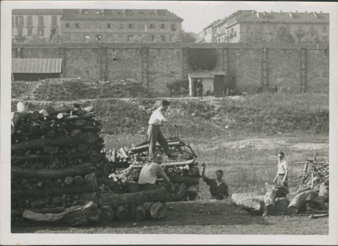 Lavoro obbligatorio a Torino 1942 - Archivio CDEC, Fondo Legislazione antiebraica,  fasc. Precettazioni a Torino