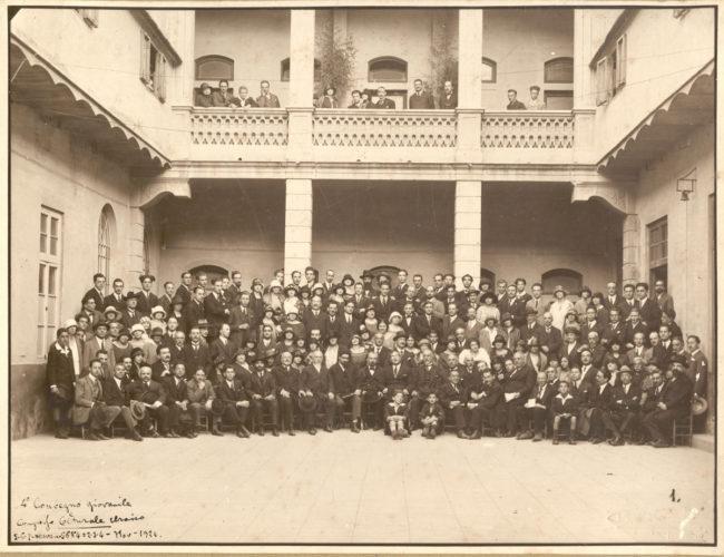 Livorno, 1924 Convegno giovanile ebraico - Archivio CDEC, Fondo fotografico Andrea Pesaro