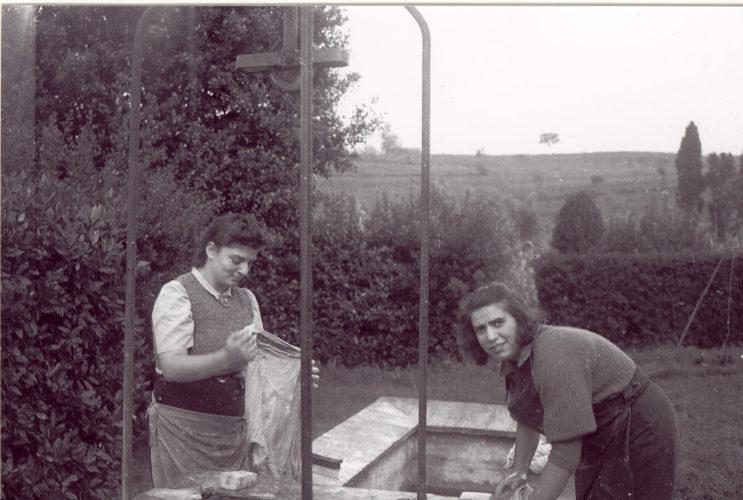 Haksharà di Orciano Pisano, estate 1940 - Archivio CDEC, Fondo fotografico Anna Levi Sonnino