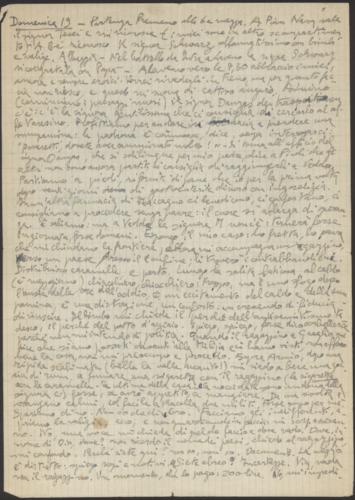Diario di Guido Lopez, 19 settembre 1944 - Archivio privato, Milano