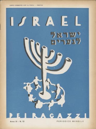 """Israel dei ragazzi"", mensile pubblicato a Firenze e poi a Milano dal 1919 al 1938 - Biblioteca CDEC - <a href=""http://digital-library.cdec.it/cdec-web/biblioteca/detail/periodical-CDEC10400001696/l-apos-israel-ragazzi-mensile-i-bimbi-ebrei.html"" target=""_blank""  >vai alla scheda</a>"
