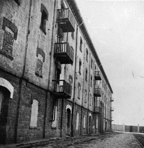 """Campo della Risiera di San Sabba, Trieste. - Archivio CDEC, Fondo Comunità ebraiche in Italia, b. 6, fasc. 48  - <a href=""""http://digital-library.cdec.it/cdec-web/storico/detail/IT-CDEC-ST0046-000052/comunita-ebraica-trieste.html"""" target=""""_blank""""  >vai alla scheda</a>"""